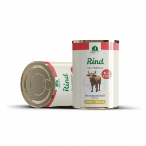 Lucky´s Pures Rind Hundefutter 800 g