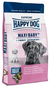 happy dog supreme junior maxi baby 29 hundefutter ab 1 kg. Black Bedroom Furniture Sets. Home Design Ideas