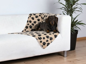 Hundedecke Beany 100 x 70 cm, beige