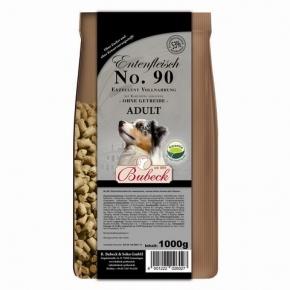 Bubeck Exzellent Entenfleisch mit Kartoffel gebacken No. 90 Adult Hundefutter 1 kg