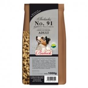 Bubeck Exzellent Seelachs mit Kartoffel gebacken No. 91 Adult Hundefutter 1 kg