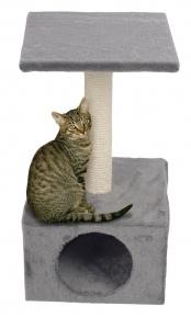 Katzen Kratzbaum Avalon - grau ca. 55 cm hoch