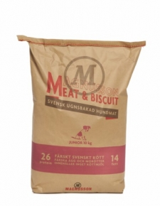 Magnusson Meat & Biscuit Junior Hundefutter 10 kg