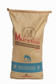 Magnusson Meat & Biscuit Light Hundefutter 14 kg