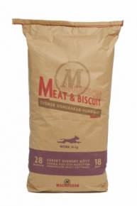 Magnusson Meat & Biscuit Work Hundefutter 14 kg