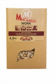 Magnusson Meat & Biscuit Work Hundefutter 4,5 kg