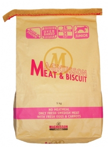 Magnusson Meat & Biscuit Junior Hundefutter 1 kg