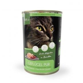 Taffy's Geflügel pur Katzenfutter 400 g