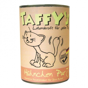 Taffy's Hühnchen pur Katzenfutter 400 g