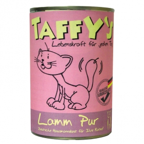 Taffy's Lamm pur Katzenfutter 400 g