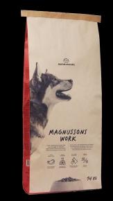 Magnusson Meat & Biscuit Work Hundefutter 14 kg