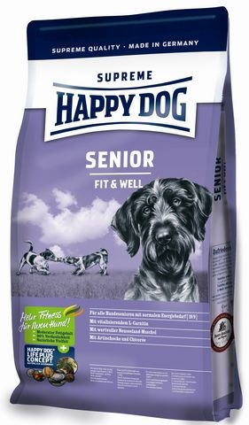 happy dog supreme fit well senior hundefutter ab 300 g 60029. Black Bedroom Furniture Sets. Home Design Ideas