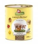 GranataPet Liebling's Mahlzeit Geflügel & Italienischer Schinken mit Mangold, Ananas und Lachsöl Hundefutter 400 g