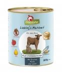 GranataPet Liebling's Mahlzeit Kalb & Wildkaninchen mit Zucchini, Kürbis un Leinöl Hundefutter 400 g