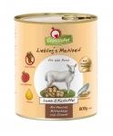 GranataPet Liebling's Mahlzeit Lamm & Kartoffel mit Fenchel, Hüttenkäse und Olivenöl Hundefutter 400 g