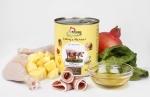 GranataPet Liebling's Mahlzeit Geflügel & Italienischer Schinken mit Mangold, Ananas und Lachsöl Hundefutter ab 400 g
