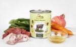 GranataPet Liebling's Mahlzeit Rind & Fasan mit Karotten, Spinat und Distelöl Hundefutter ab 400 g