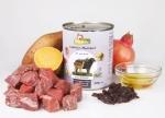 GranataPet Liebling's Mahlzeit Wild & Büffel mit Süsskartoffeln, Cranberries und Sonnenblumenöl Hundefutter ab 400 g