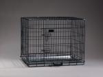 Hunde Transport Gitter Box schwarz in versch. Größen ab