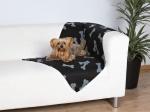 Hundedecke Beany 100 x 70 cm, schwarz