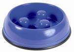 Hundenapf Slow Feed blau 0,9 l / ø 23 cm
