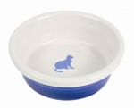Katzen Keramiknapf mit Katzen Motiv 0,25 l / ∅ 15 cm versch. Farben