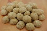 Hundekekse Lamm & Reis Drops 1 kg