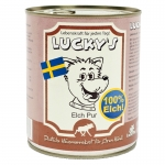 Lucky´s Elch Pur Hundefutter 800 g