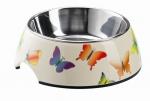 Melamin Katzen Napf Schmetterling Dekor 160 ml ca. 11 cm Durchmesser