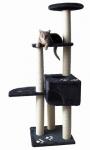 Katzen Kratzbaum Alicante anthrazit 142 cm hoch