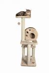 Katzen Kratzbaum Salamanca - beige ca. 138 cm hoch